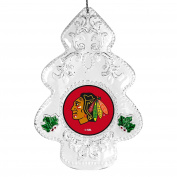NHL Traditional Acrylic Tree Ornament, 11cm , Clear