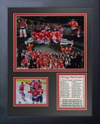NHL Chicago Blackhawks Legends Never Die Framed Photo Collage, 2015 Stanley Cup Champions, 28cm x 36cm