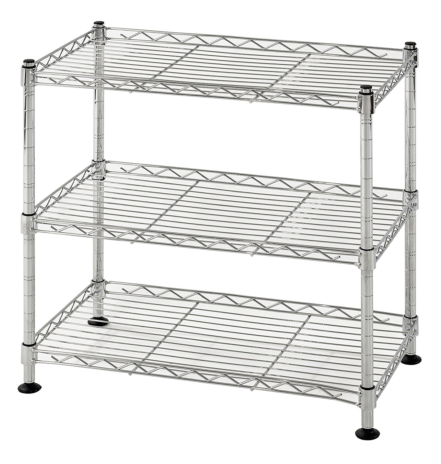 Muscle Rack WS181018-C Steel Adjustable Wire Shelving, 46cm H x 46cm ...