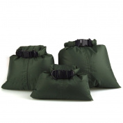 3Pcs Waterproof Dry Bag Storage Pouch Rafting Canoeing Boating Kayaking 1.5+2.5+3.5L