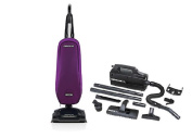 Oreck Axis Upright Lightweight Vacuum Cleaner - Purple Power Bundle with Oreck Super Deluxe Compact Vac - BB880AD