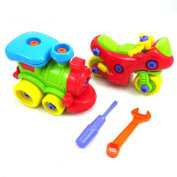 Toy Train & Toy Motorcycle - Take-A-Part Building Toys For Development & Education