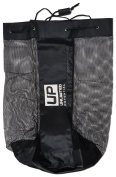 Mesh Equipment Bag - Adjustable, sliding drawstring cord closure. Perfect mesh bag for parent or coach, making it easy to transport and keeping your sporting gear organised