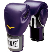 Everlast Womens Pro Style Training Boxing Gloves - Black Orchid