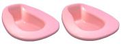 Vakly Deluxe Stackable Contour Bedpans - Pink (Mauve)