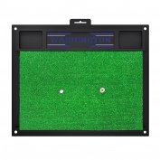 FANMATS 15656 Washington Golf Hitting Mat, Team Colour, 50cm x 43cm
