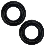 Elemart Golf Weighted Swing Ring - 2 PCS Golf Club Warm Up Swing Donut Weight Ring Diver for Practise & Training