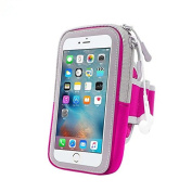 Do4U IPhone 7 Plus Sports Armband, Outdoor Running CellPhone Sweatproof Case with Key Holder and Card Pouch for iphone 6 6s Plus 5s 5c se Samsung Edge S4 S5 S6 S7