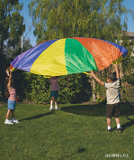 3m Kids Play Parachute IN HAND Outdoor Game Toy w/Carry Case