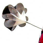 AGPtek® Speed Training Resistance Parachute - Large (140cm Size), 11-16kg of resistance, Fit up to a 110cm waist