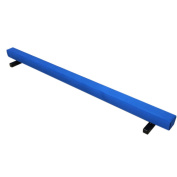 The Beam Store Suede Gymnastics Balance Beam, Royal Blue, 2.4m