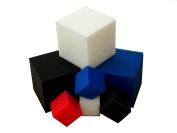 "Foam Pits Blocks/Cubes 20 pcs. 13cm x 13cm x 5"" White (1536) Flame Retardant Pit Foam Blocks For Skateboard Parks, Gymnastics Companies, and Trampoline Arenas"