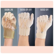 Exercise Gloves - NEW Deluxe Traction Exercise Glove with Thumb, Right, Large/X-Large (8.9cm - 11cm by Sammons Preston