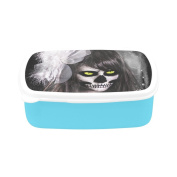 D-Story Sugar Skull Day Of The Dead Children's Lunch Box Leakproof Bento Lunch Box Food Container