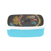 D-Story Chicken Children's Lunch Box Leakproof Bento Lunch Box Food Container
