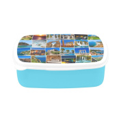 D-Story Stack Of Antalya Turkey Children's Lunch Box Leakproof Bento Lunch Box Food Container