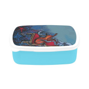 D-Story Octopus Children's Lunch Box Leakproof Bento Lunch Box Food Container