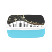 D-Story Musical Instrument And Notes Children's Lunch Box Leakproof Bento Lunch Box Food Container