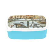 D-Story Landscape Of Gent, Belgium Children's Lunch Box Leakproof Bento Lunch Box Food Container