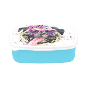 D-Story Cute Dog Children's Lunch Box Leakproof Bento Lunch Box Food Container