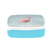 D-Story Flamingo Children's Lunch Box Leakproof Bento Lunch Box Food Container