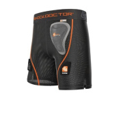 Shock Doctor Core Loose Hockey Shorts with Pelvic Protector, Women's & Girls