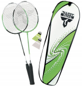 Talbot Torro 2 Attacker Badminton Racquets Set - Green/White
