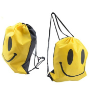 HuntGold 1X Outdoor Beach Gym Swimming Clothing Shoes Towel Storage Bag Drawstring Backpack
