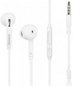 for Samsung EO-EG920LW OEM Wired 3.5mm Headset with Microphone for Samsung Galaxy S7/S7 Edge (In Jewel Case) - White