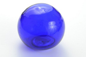 Cobalt Blue Reproduction Glass Float Fishing Buoy Ball 7.6cm