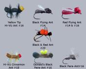Ant Fly Assortment - 8 Flies