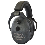 Pro Ears - ReVO - Electronic Hearing Protection and Amplification - NRR 25 - Youth and Women Ear Muffs - Typhon