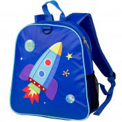 Embroidered Children's Backpack - Space