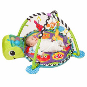 Generic Baby Activity Gym Soft Musical Toys Play Mat Spots and Stripes Ocean style Safari Gym with Ball pit and Ocean ball