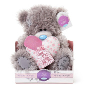 23cm Thank You Padded Heart Me to You Bear