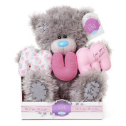23cm Padded Letters Mum Me to You Bear