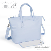 Pasito a Pasito - Bag with Changing Catania Blue