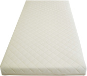 Mother Nurture Quilted Eco Fibre Cot Mattress, 120 x 60 x 10 cm