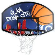 Charles Bentley Basketball Set With FREE Size 7 Ball 45Cm Hoop & Net 90Cm Backboard