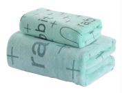 Set of 2 Fine Lovely Absorbent Lightweight Sport Towels Bath Towels 140*70 CM