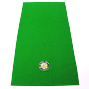 Hainsworth Pool Table Racking Cloth - SMALL GOLDEN 8 BALL LOGO