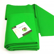 Hainsworth CLUB Bed & Cushion Set for 1.8m UK Pool Table - GREEN - FREE DVD