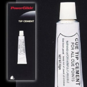 Powerglide Snooker Pool & Billiards Pro Quality Cue Tip Repair Cement Glue rrp£8