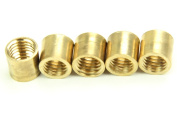 5 x Peradon POLISHED BRASS FERRULE for Snooker Pool Billiard Cue - Various Sizes!