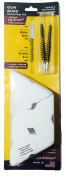 Cleaner Faster Kits, Cal 35, 380, 9, Patented Nylon Bore Brushes and Patches, by BoreSmith