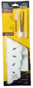 Cleaner Faster Kits, Cal 22, 223, 5.56, Patented Phos Bronze Bore Brushes and Patches, by BoreSmith
