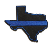 Thin Blue Line State of Texas Patch