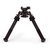 Atlas Bipods PSR Atlas Bipod- Lever with ADM 170-S Lever, Black,