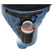 Vi PU Leather Beer Holster for 350ml Beer Bottle Beer Can Soda Beverage Holder