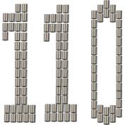 110 Decoy Crimps for Duck Decoys & Goose Decoys – Decoy Line Crimps for PVC Decoy Cord – DecoyPro